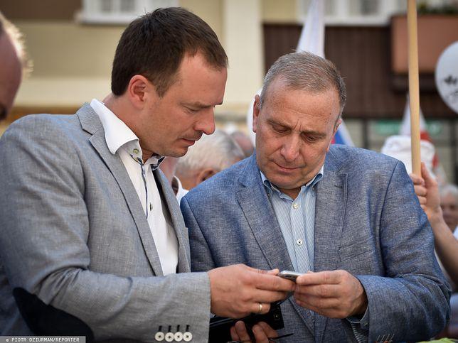 Wyniki wyborów do Senatu. Piotr Borys i Grzegorz Schetyna.