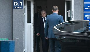 Jarosław Kaczyński trafił do szpitala na początku maja