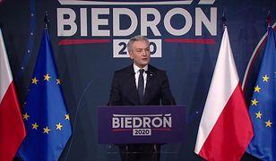 Wybory prezydenckie 2020. Robert Biedroń uderza w Andrzeja Dudę
