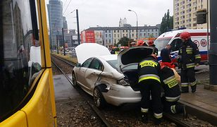 Wypadek na ulicy Towarowej