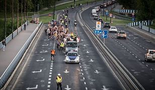 Rolkarze i rowerzyści wyjadą na warszawskie ulice. Szykują się utrudnienia drogowe