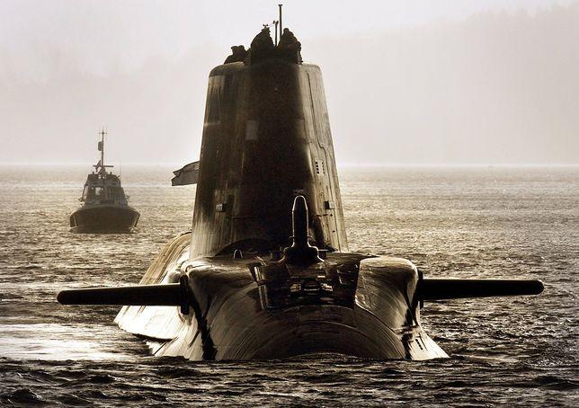 Atomowy okręt podwodny brytyjskiej marynarki