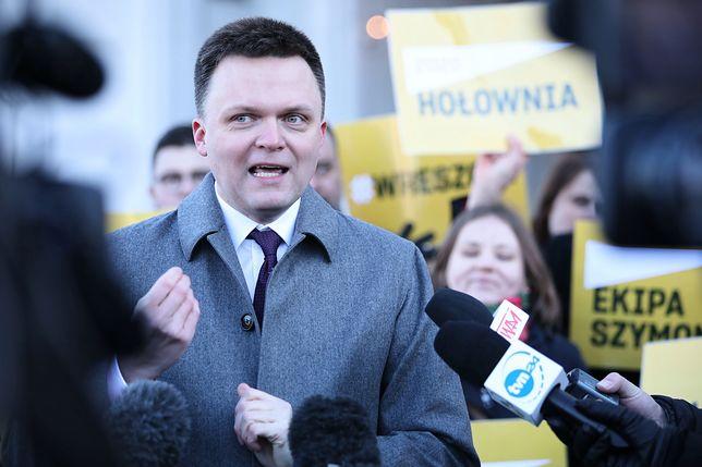 Szymon Hołownia, kandydat na prezydenta.
