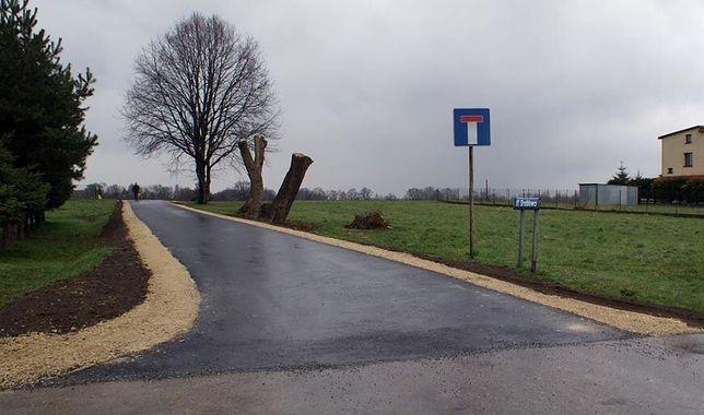 Remont tej drogi nie wymagał podwyżki podatków. Prowadzi do domu Beaty Szydło