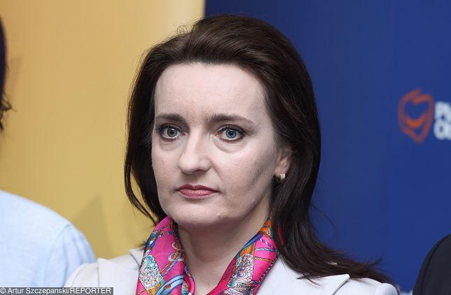 Spłonęło jej mieszkanie. Posłanka PO Marzena Okła-Drewnowicz zabrała głos