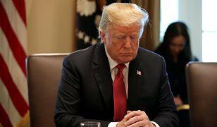 USA. Chaos w Białym Domu, Donald Trump w sporych tarapatach