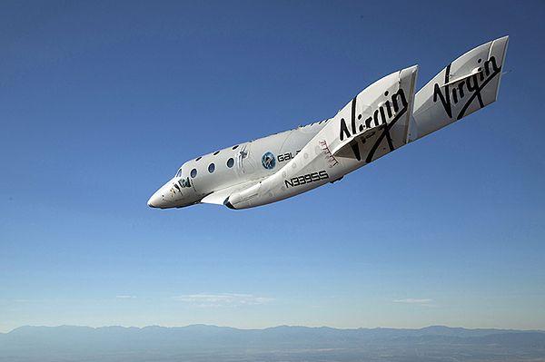 Eksperymentalny pojazd kosmiczny Virgin Galactic rozbił się podczas próbnego lotu