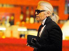 Karl Lagerfeld przewrażliwiony na swoim punkcie