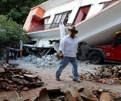 Największe zniszczenia trzęsienie spowodowało w stanie Oaxaca.