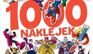 DC Super Friends. 1000 naklejek