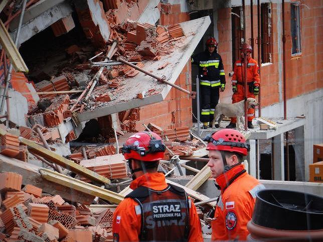 Już kilka miesięcy przed eksplozją ktoś spalił zostawiony na budowie sprzęt