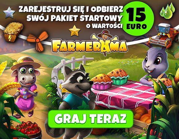 Rozpocznij przygodę w FARMERAMA z bonusem startowym!