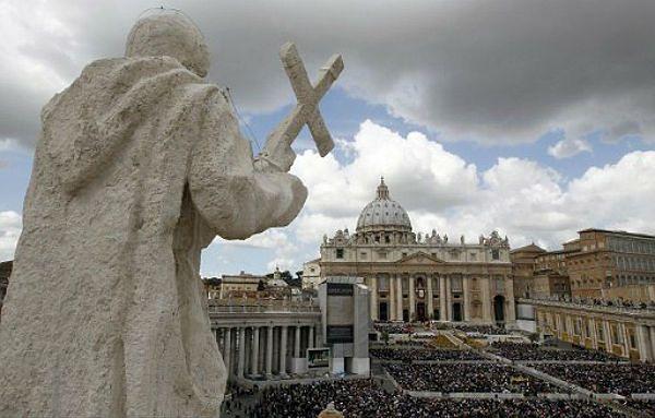 Watykan, widok na Plac Św. Piotra