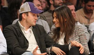 Ashton Kutcher i Mila Kunis zdementowali plotki o rozstaniu