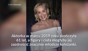 Sharon Stone udowadnia, że wiek to tylko liczba w PESELU