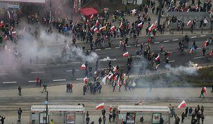 11 listopada ulicami Warszawy przeszedł Marsz Niepodległości