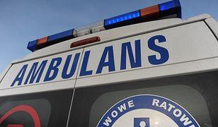 Radom. Poszkodowany mężczyzna w ciężkim stanie trafił do szpitala