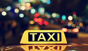 Protest taksówkarzy w Warszawie. Konkurencją Uber i Taxify