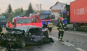 Starachowice. W wypadku zginął 29-letni mężczyzna (fot. KPP Starachowice)