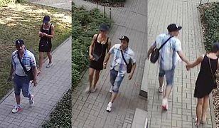 Policja prosi o pomoc w zidentyfikowaniu podejrzanych.