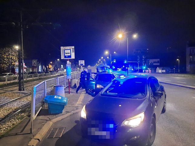 Warszawa. Policyjny pościg stołecznymi ulicami