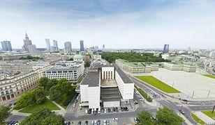 Zobacz wirtualny Pałac Saski na tle Warszawy! [WIZUALIZACJA 3D]