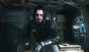 "Keanu Reeves jako Johny Silverhand z ""Cyberpunk 2077"" pojawił się w ""Metal Gear Solid 5"""