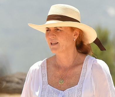 Sarah Ferguson na wakacjach