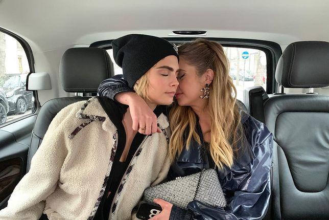 Cara Delavingne i Ashley Benson wspólnie spędziły walentynki.