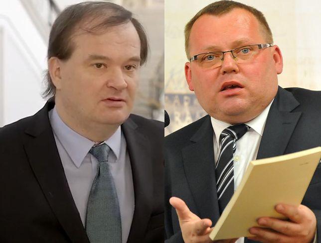 Jakub Stelina (P) - nowy kandydat PiS do Trybunału Konstytucyjnego - chce być też sędzią SN. Poparcie partii utracił Robert Jastrzębski (L)