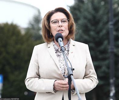 Kandydatka Koalicji Obywatelskiej apeluje do wyborców, by 10 maja zostali w domu