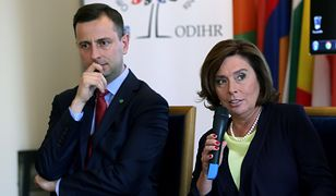 Przewaga kandydatki Koalicji Obywatelskiej nad kandydatem PSL stopniała do ok. 2 proc.