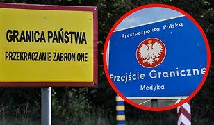 Medyka. Straż graniczna zatrzymała obywatela USA, który nielegalnie chciał przekroczyć granicę Polski i Ukrainy