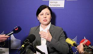 We wtorkowej debacie PE udział weźmie wiceszefowa KE Viera Jourova