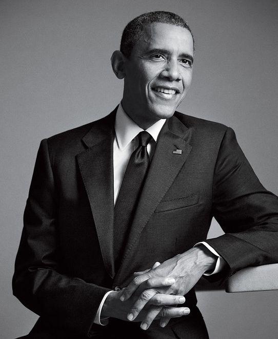 Barack Obama w GQ Men