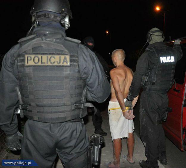 Sprawca napadu na bank w Działdowie zatrzymany. Ukradł, bo miał długi