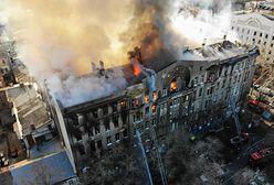 Ukraina. Pożar w szkole w Odessie. Znaleziono ciała 16 osób