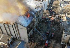 Ukraina. Rośnie liczba ofiar pożaru w Odessie