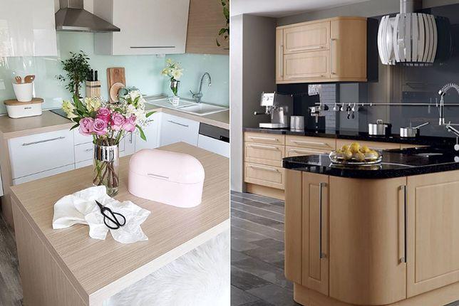 Szklane panele dekoracyjne do kuchni powiększają optycznie wnętrze