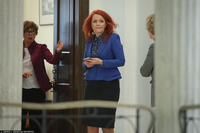 Szefowa Kancelarii Sejmu Agnieszka Kaczmarska nie stawi się przed sądem w Olsztynie