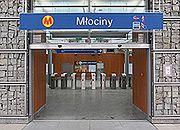 Warszawskie metro dojedzie na Młociny
