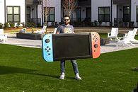Potwór nie konsola. Zobaczcie największe Nintendo Switch na świecie - Największe Nintendo Switch na świecie