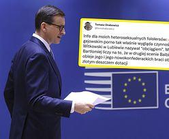 """Ostry komentarz po debacie w europarlamencie. """"Czynność zwana..."""""""