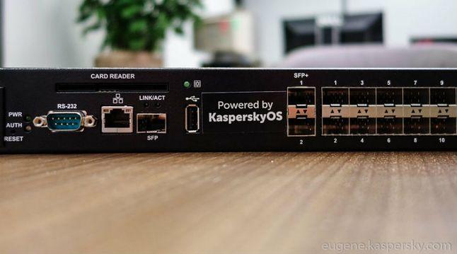 Pierwsze urządzenie z systemem Kaspersky OS