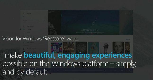 Nowy wygląd Groove'a zaprezentowany podczas Windows Developer Day. Źródło: Neowin