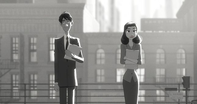 "Kadr z filmu ""Paperman"""