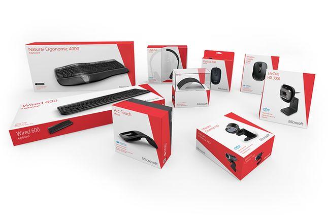 Myszki, klawiatury czy kamerki Microsoftu nie są problemem