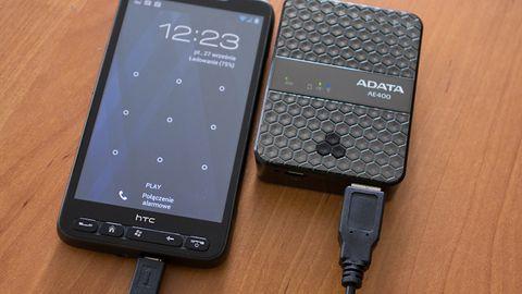 ADATA DashDrive Air AE400 wielozadaniowe akcesorium dla urządzeń mobilnych