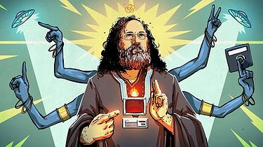 Richard M. Stallman — charyzmatyczny guru Ruchu Wolnego Oprogramowania