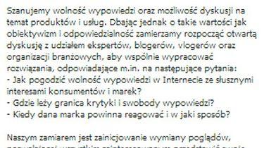 Duży kontra mały - kucharz kontra producent - tekst ugody znaleziony na demotywatory.pl